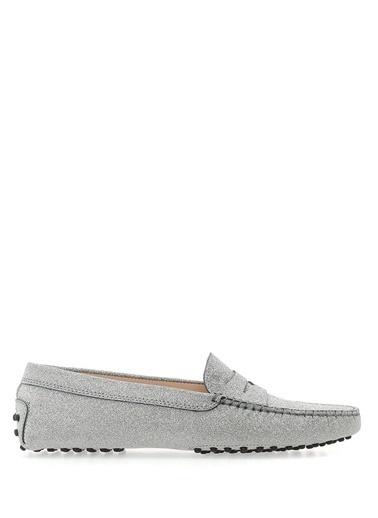 Tod's Ayakkabı Gümüş